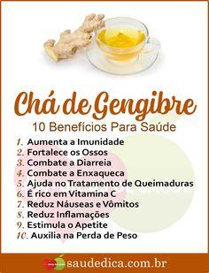 Os 10 Benefícios do Chá de Gengibre Para Saúde! Dieta Online, Dieta Flexible, Bebidas Detox, Tomato Nutrition, Matcha Benefits, Beauty Treats, Herbal Medicine, Healthy Tips, Food Dishes
