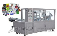 Cosmetic Box Wrapping Machine|Perfume Box Cellophane Wrapping Machine LGB-400A