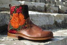 Teysha Custom Handmade Boots - Perfect for Fall #teysha #Guatemala