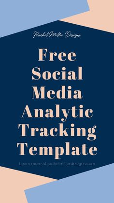 Learn how and why you should track your social media analytics! Social Media Analytics, Social Media Tips, Social Media Marketing, Digital Marketing, Goal Planning, Web Development, Entrepreneur, Track, Website