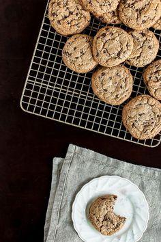 The Ultimate Paleo Chocolate Chip Cookies by @imnochef James Trenda food.jamestrenda.com #paleo
