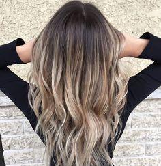 Ombre Balayage Haar frisuren Pinterest