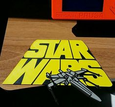 Star Wars - X Wing logo printed by Jörg Sandmann