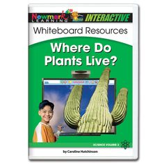 Science Interactive: Where Do Plants Live? Interactive Whiteboard CD-ROM