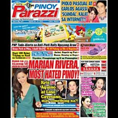Pinoy Parazzi Vol 6 Issue 107 August 26 – 27, 2013 http://www.pinoyparazzi.com/pinoy-parazzi-vol-6-issue-107-august-26-27-2013/