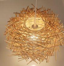 Lampe suspendue de Plafond Cage Métallique d Abat Jour de Lustre en
