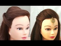 Going to parlor for hairdo is not possible every time, So get the tutorial for Easy Hairstyles For Any Occasion on Threads and look gorgeous without stress. hairstyles with curls Easy Hairstyles For Any Occasion - Threads- WeRIndia Simple Hairstyle For Saree, Indian Hairstyles For Saree, Easy And Beautiful Hairstyles, Lehenga Hairstyles, Hairstyles For Gowns, Open Hairstyles, Indian Wedding Hairstyles, Easy Hairstyles For Medium Hair, Fishtail Hairstyles