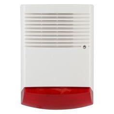 Alarm System/Home Alarm/Alarm Accessories Outdoor siren with strobe Alarm System, Strobing, Home Appliances, Outdoor, Accessories, House Appliances, Outdoors, Appliances, Outdoor Games