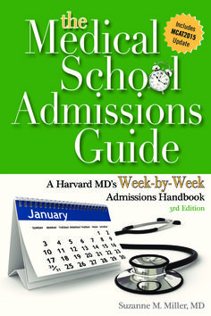 Buy the Medical School Admissions Guide Online from mdadmit.com at cost effective price. For more details: http://www.mdadmit.com/medical-school-admissions-guide