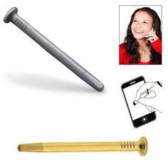Puntero para Pantallas Clavo Straightener, Hair, Beauty, Cool Gadgets, Cell Phone Accessories, Nail, Screens, Beauty Illustration, California Hair