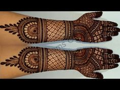 Mehndi Art Designs, Hand Henna, Hand Tattoos, Blossoms, Craft Projects, Crafting, Amazing, Youtube, Flowers