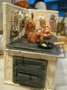 how to: tiled stove