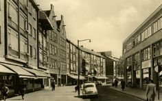 Pannekoekstraat Rotterdam (jaartal: 1950 tot 1960) - Foto's SERC