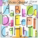 LINK TO BUNCH OF ALPHABETS Tiny Blocks Alphabet