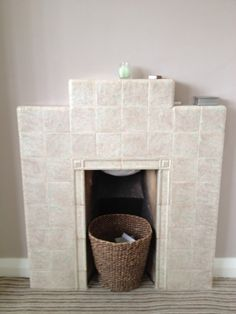 Posts about Aesthetic Mission written by Nic @ Life, Smudged. Art Deco Fireplace, Fire Surround, Doll Houses, Fireplaces, 1930s, Interior And Exterior, Tile, Youth, Lounge