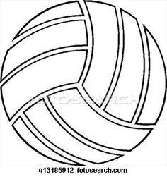 vector volleyball design stock illustration royalty free rh pinterest com volleyball clipart free volleyball clipart free printable