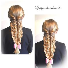 Topsy tailed combo braids for today. Inspiration by the exceptionally talented @katharina_braids . To view any of her beautiful braids, head on over and give her a follow. Wishing all my #igfriends and #igfollowers a great day ahead   Inspiration @kathari