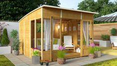 BillyOh 5000 Sunroom Summerhouse Range - Cheap Summerhouses - Garden Buildings Direct