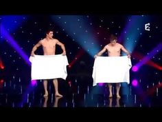 Two Naked Comedians And Their Bath Towels Make For A Hilarious Performance! Dance Routines, Really Funny, No Time For Me, Comedians, Youtube, Haha, Clever, Hilarious, Jokes