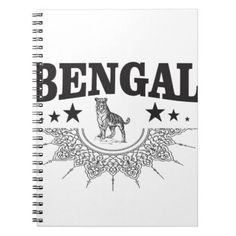 #Bengal country notebook - #country gifts style diy gift ideas