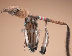 "Native American Apache Medicine Stick 24"""