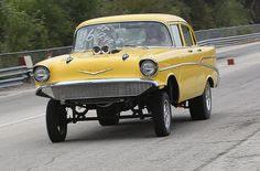57 Chevy Gasser....cool....