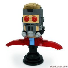 LEGO Star-Lord Bust | Flickr - Photo Sharing!