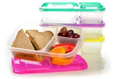 Food Storage Carriers EasyLunchboxes 3-Compartment Bento Lunch Box Containers…
