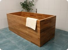 Wooden bathtub found under google search for (V2216) sink - Google Search