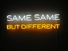 same same but different - Google Search