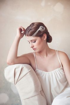 A New Collection of Exquisite Veils and Hair Accessories from Gilded Shadows
