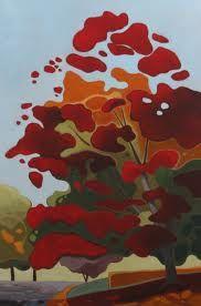 Leanne Baird - Red tree