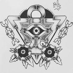 Made a few adjustments, #illustration #drawing #doodle #sketch #art #artist #artwork #myart #cartoon #design #print #animation #plugs #tattoo #tattoos #ink #pen #pencil #lines #florida #stipple #painting #anime #manga #zine #comic #traditionaltattoo #yugioh #yugiohtattoo #yugiohtrades