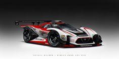 ArtStation - Nissan VGT GT3 Concept, Khyzyl Saleem