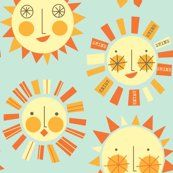 happy suns! I used to draw these all over my notes in school