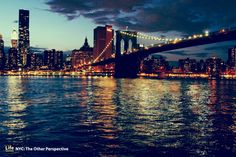 Manhattan at night- One of the prettiest sights I have ever seen!
