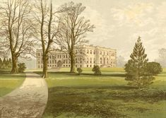 An poster sized print, approx (other products available) - Kimbolton Castle, Huntingdon, Cambridgeshire - Image supplied by Mary Evans Prints Online - Poster printed in Australia Fine Art Prints, Framed Prints, Canvas Prints, Framed Wall, Online Images, Photographic Prints, Wonderful Images, Poster Size Prints, Photos