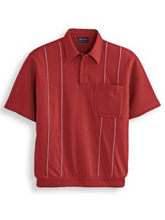 HULANG Mens Slim Fit Cotton Polo Shirts Long Sleeve Work Office