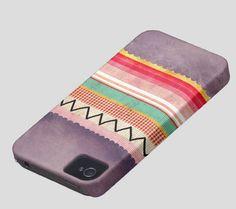 Cute iPhone 5 Case  Rupydetequila  Art  Purple Fun Chevron by Ruth Fitta Schulz, $80.00