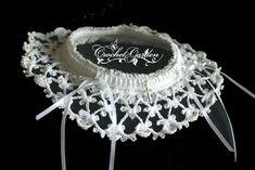 Crochet Wedding Garter Pattern | CROCHET BRIDAL GARTER | Crochet For Beginners