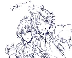 Prompto and Noctis ~ KAMCKSKX