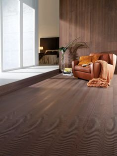 This floor is particularly suitable for zones often walked on barefoot, as its structures have a massaging effect on the soles of the foot. With their decorative character, mafi Fresco planks are also ideal design elements for walls and ceilings. Ash Flooring, Natural Wood Flooring, Wide Plank Flooring, Engineered Wood Floors, Wooden Flooring, Hardwood Floors, Interior Architecture, Interior Design, Commercial Flooring