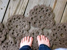 Life on the Double Point: Crochet Rug Project