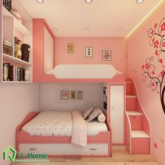 Creative kids bedroom decorating ideas 21 Home Design Ideas Girl Bedroom Designs Bedroom creative Decorating design Home Ideas Kids