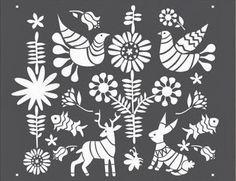 Wallpaper Alternative 101 - Stencils!