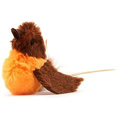 OurPets Play-N-Squeak Real Birds Touch Down Interactive Cat Toy ** For more information, visit image link. (This is an affiliate link) #Cats