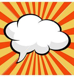 Pop art comic speech bubble vector by PiXXart on VectorStock® Comic Book Paper, Comic Books, Comic Kunst, Comic Art, Fiesta Pop Art, Cuadros Pop Art, Pop Art Images, Comic Bubble, Pop Art Women