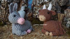 https://www.facebook.com/Canal-crochet-1166416096719575/?ref=bookmarks http://amigurumilacion.blogspot.com.es/2015/11/buey-y-mula-amigurumi-patron-libre.html...