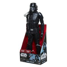 Star Wars: Rogue One 31-Inch Figures  STORMTROOPER, K2-SO, DEATH TROOPER JAKKS BIG-FIGS Massive 31-inch action figures straight from the Star Wars universe. Includes seven points of articulation and authentic galactic blaster weapon.  Age: 3+ Suggested Retail Price: $34.99