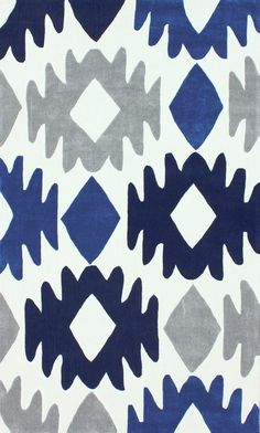 Devon Area Rug in Blue design by NuLoom